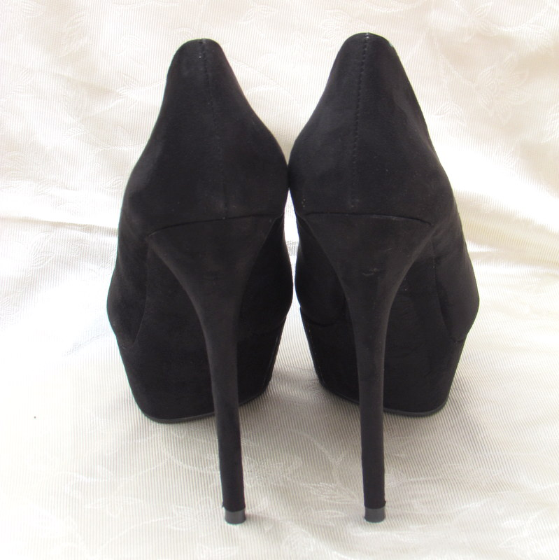 6ccb01754c1 IMG 3133 IMG 3136. I ordered these awesome black 6 inch heels online at the Forever  21 ...
